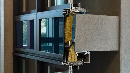 Cascadia window wall for thermal performance