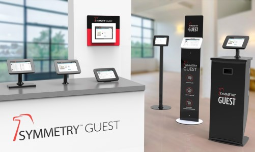 AMAG Technology's Symmetry GUEST Kiosks for visitor management