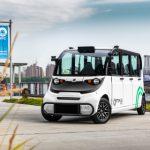 Optimus Ride self-driving vehicle with Velodyne lidar sensors
