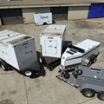 MaintenX has a fleet of generators, fuel trucks and other emergency equipment
