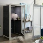 VARIDESK Privacy Booth