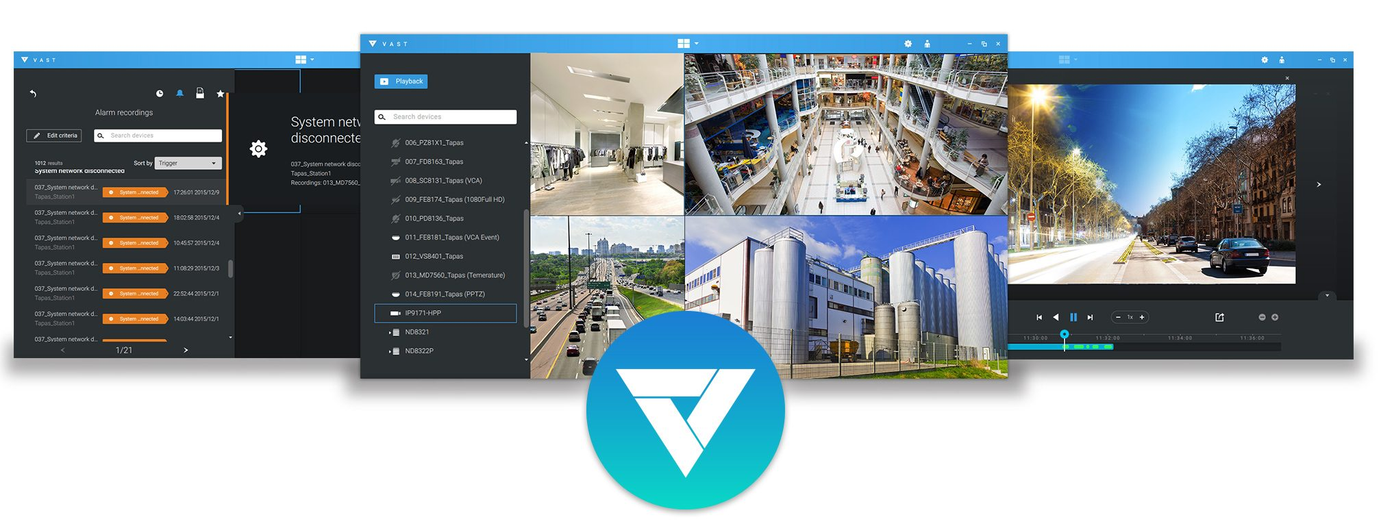 Vivotek's video management software (VMS) VAST 2