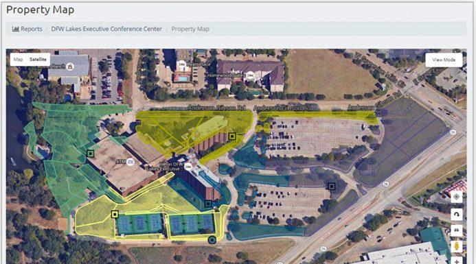 Banyan Water Irrigation Insight software