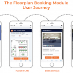 NFS Rendezvous Mobile workspace software with floorplan technology