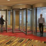 Boon Edam's Tourlock 180 high-security revolving doors