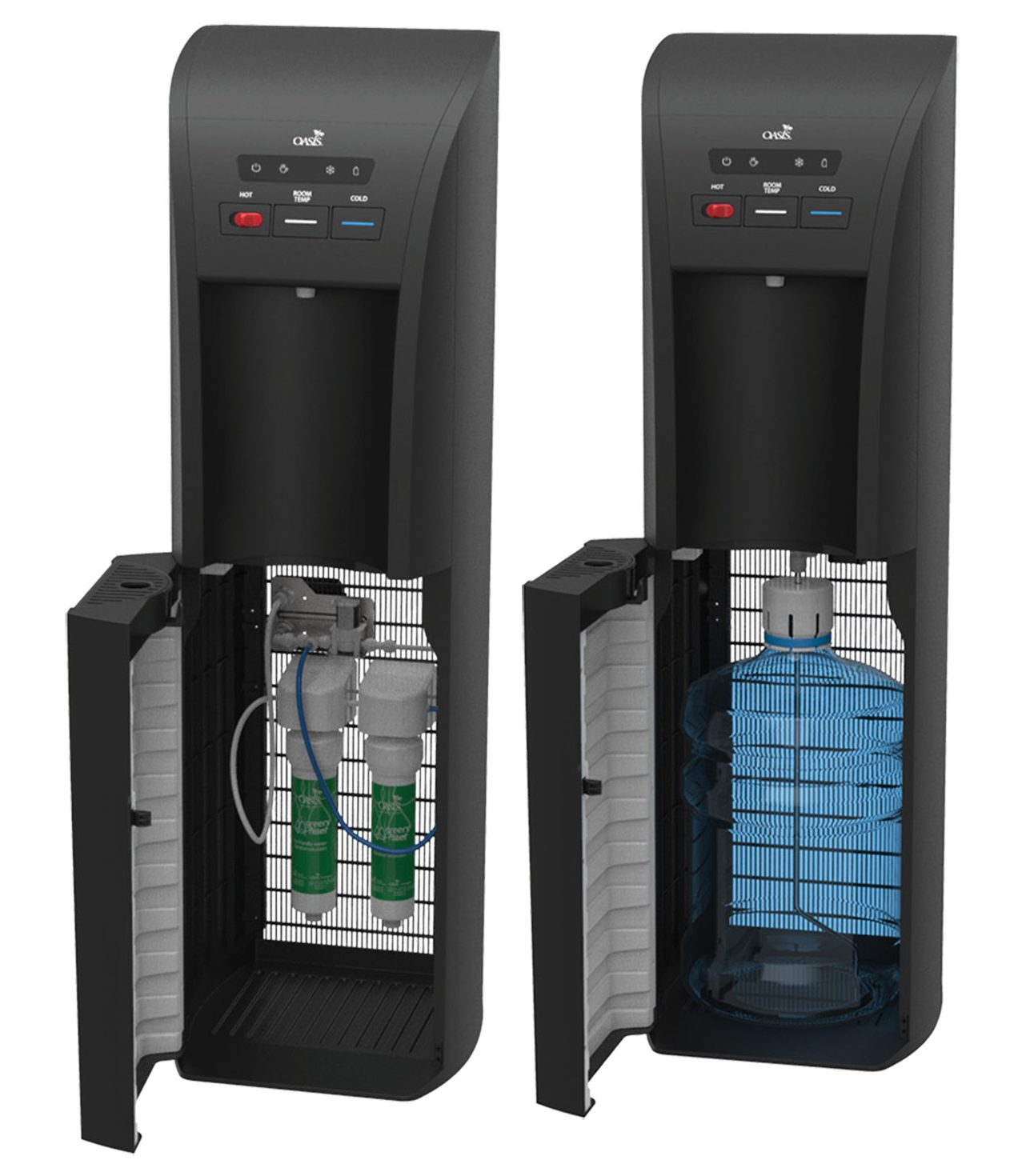 Aquarius convertible water cooler