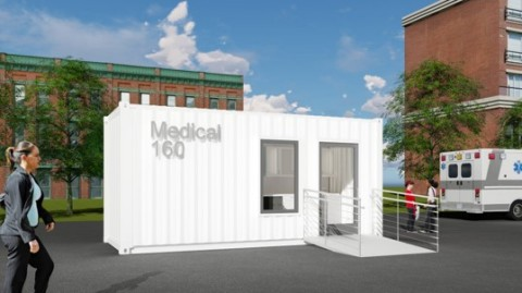 SG Blocks shipping container-based health and safety modules