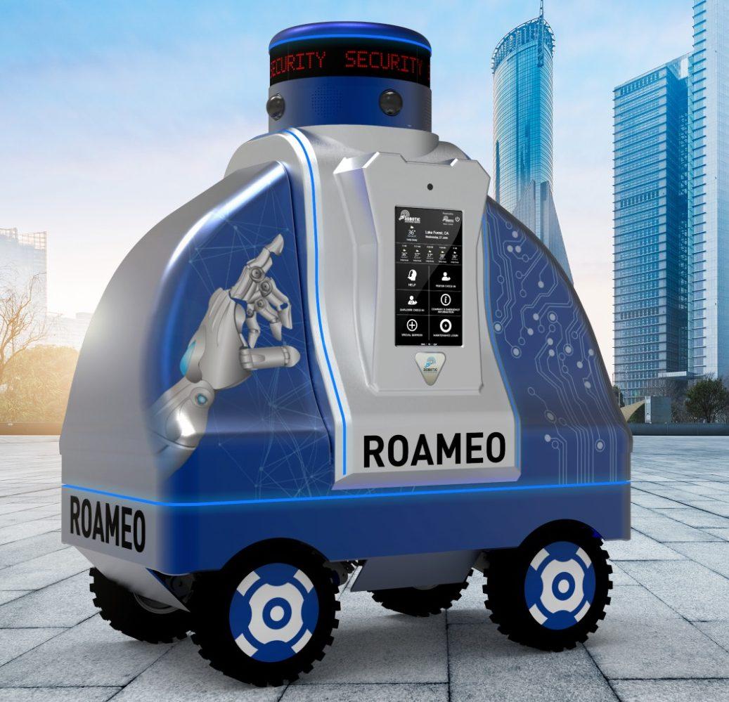 RAD's ROAMEO mobile security robot