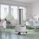 UVD Robots self-driving disinfection robot