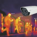 Platinum CCTV PT-BF5421-T thermal camera for fever detection