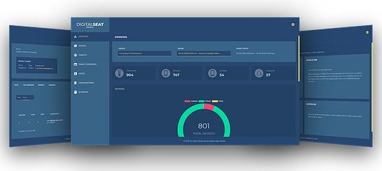 Safety Scan analytics dashboard with real-time sanitization reports