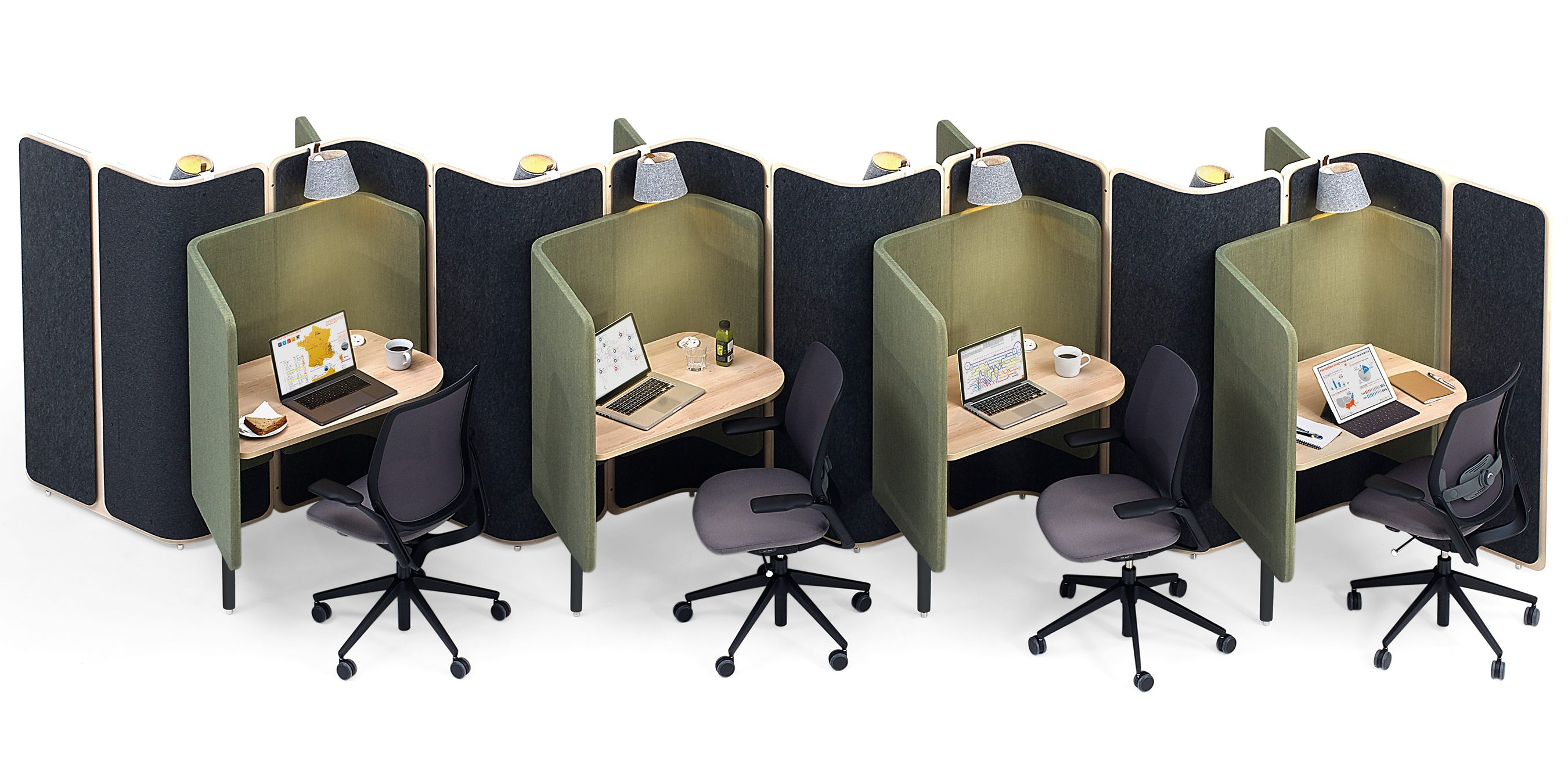 Steelcase Coppice work booth