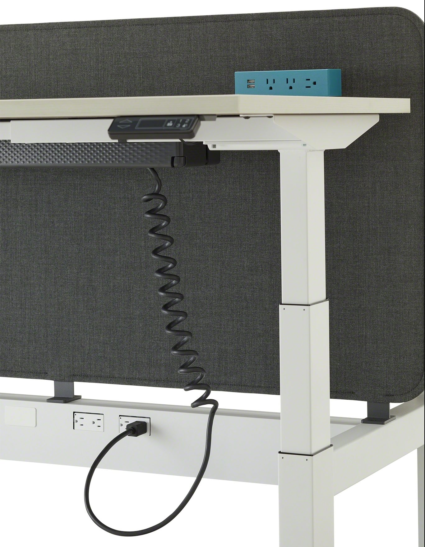 Steelcase Powerstrip Plus with Universal Cable Management Kit