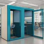 Teknion's Tek Booth privacy booth