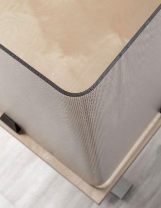 3form Varia desk partition and hardware