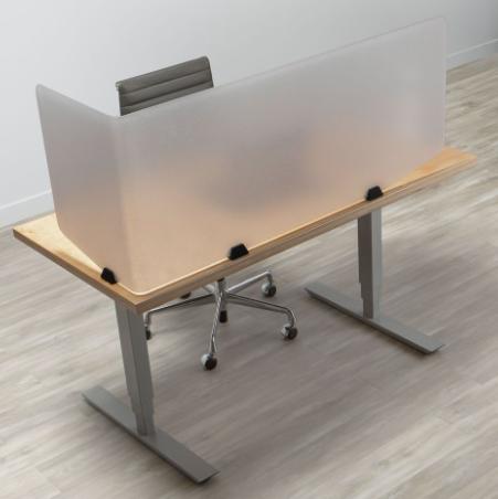 3form Varia desk partitions