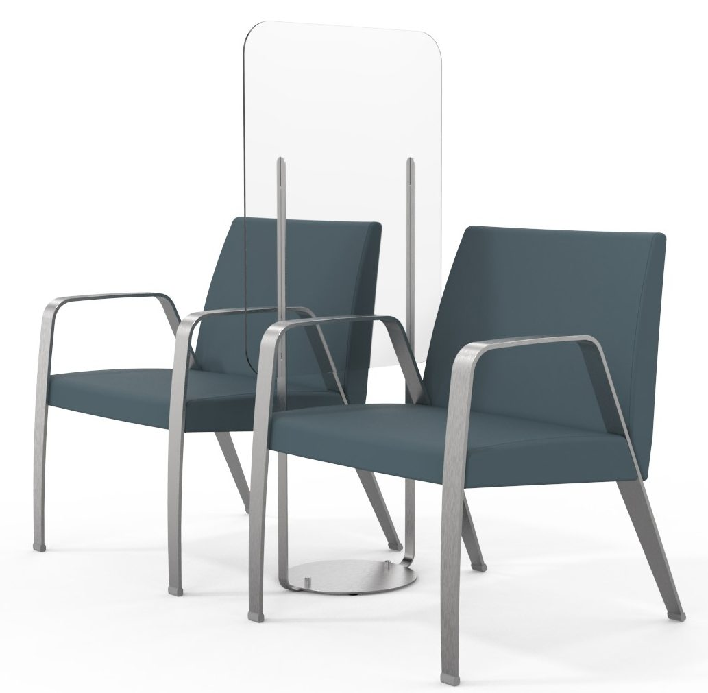 Integra Seating Wellness Dividers with Valayo Chairs
