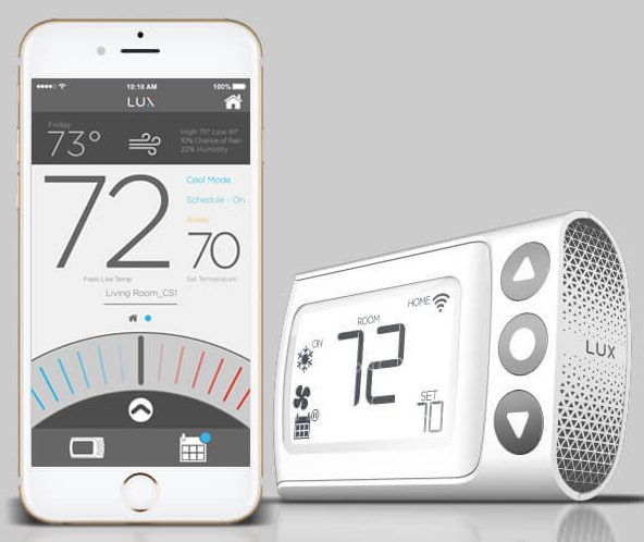LUX CS1 Smart Thermostat and lUX App