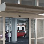 Berner air curtains with Pure Air Package