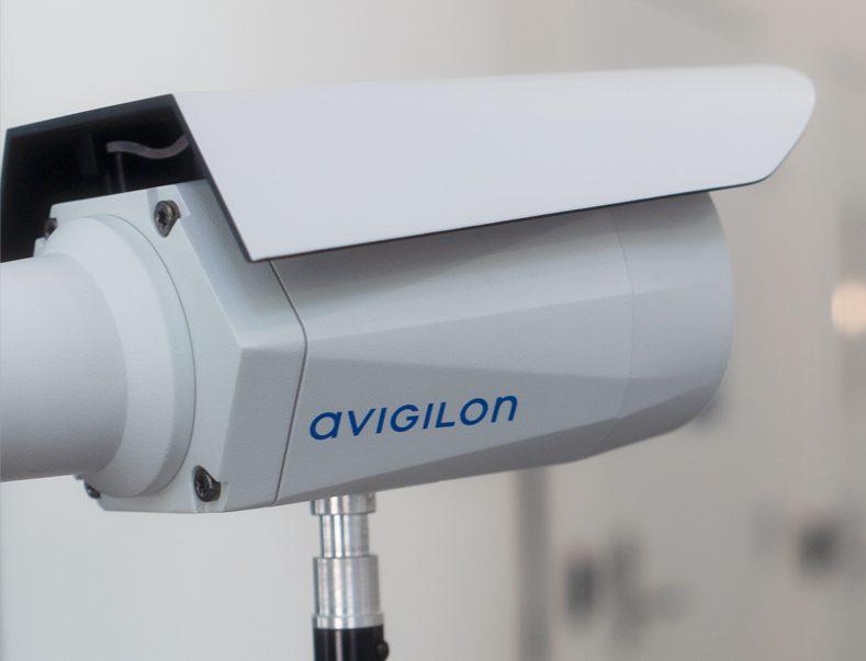 Avigilon H4 Thermal Elevated Temperature Detection camera to detect fever