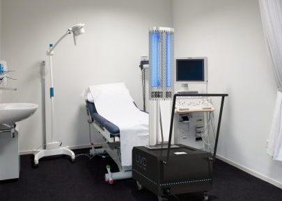 UVC PureLight 360 disinfection device