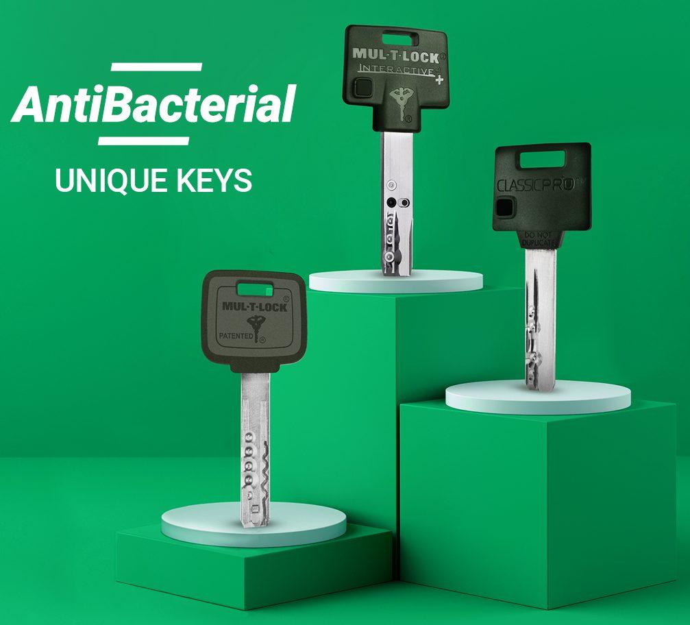 MTL antibacterial keys for healthier access control