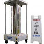 Ericson Manufacturing UV-C Perma-Kleen Cart (PKCART) mobile disinfecting unit