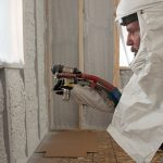 JM Corbond IV Closed-Cell Spray Polyurethane Foam insulation