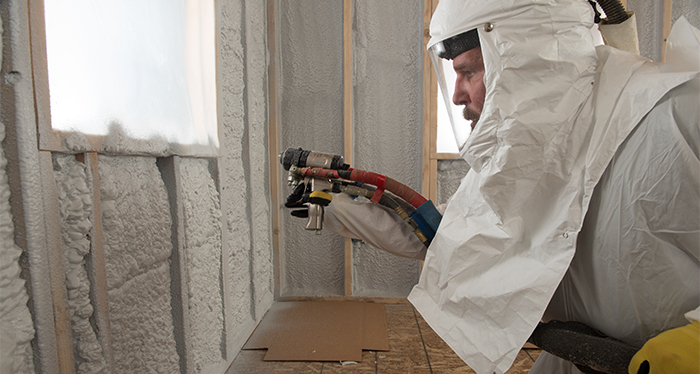 JM Corbond IV Closed-Cell Spray Polyurethane Foam insulation