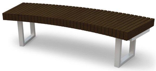 Kebony Radius Bench outdoor furniture