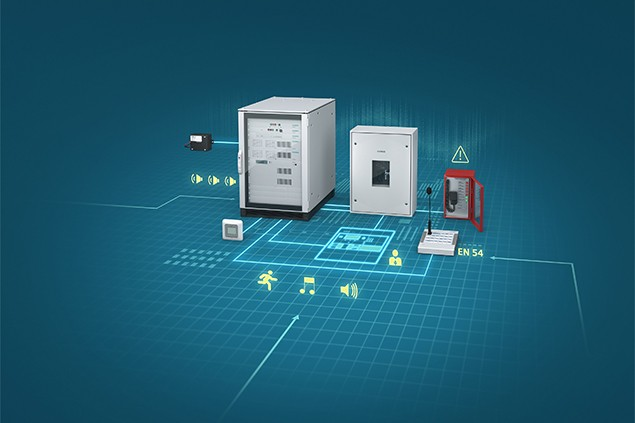 Siemens' CerberusPACE Modular system for public address / voice alarm