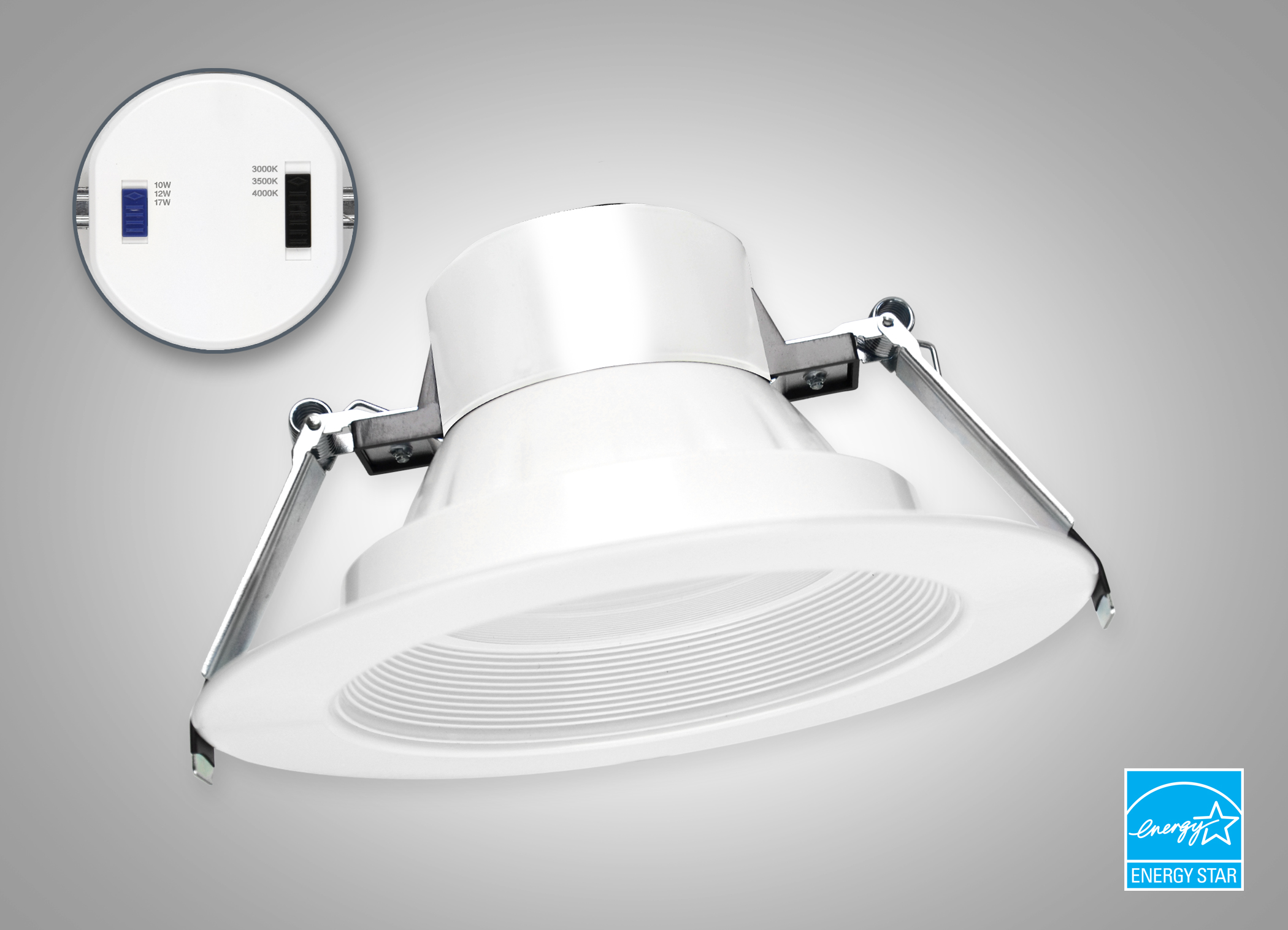 MaxLite RCF recessed downlights