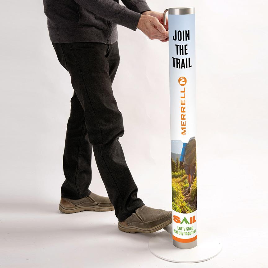 SafeGuard XtraSafe and-sanitizing system