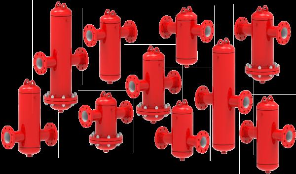 Bell & Gossett CRS Coalescing-Style Air & Sediment Separators