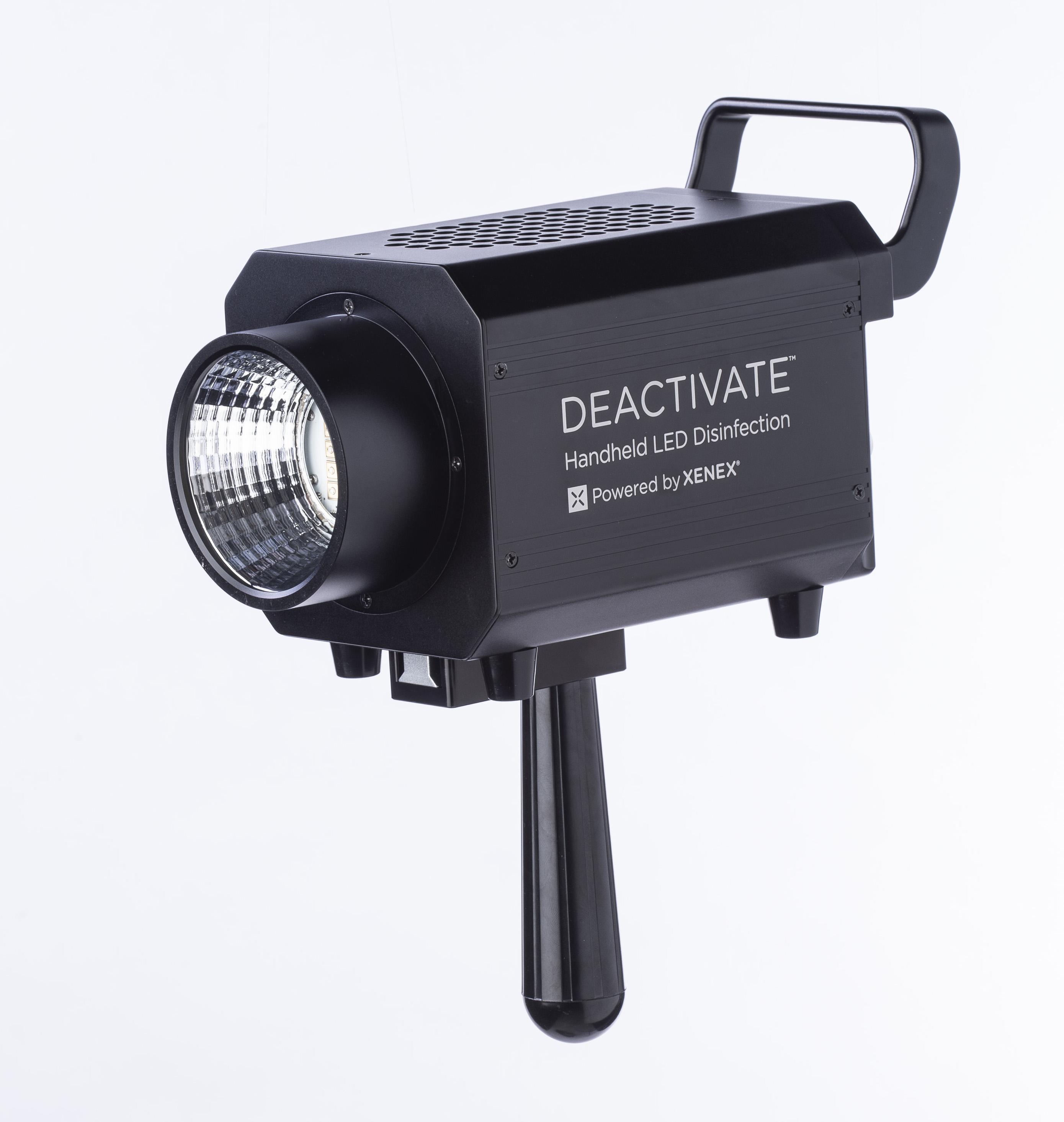 Xenex Deactivate handheld UV device