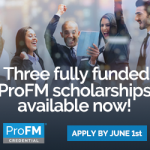 ProFM Credential Scholarships ad