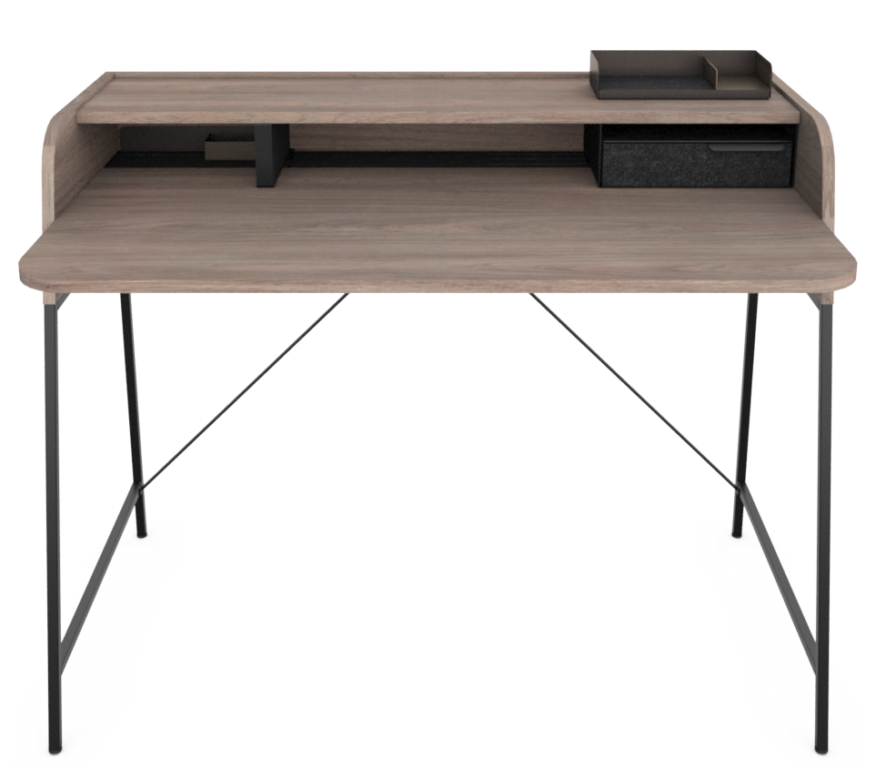 Teknion Carrier Desk with riser