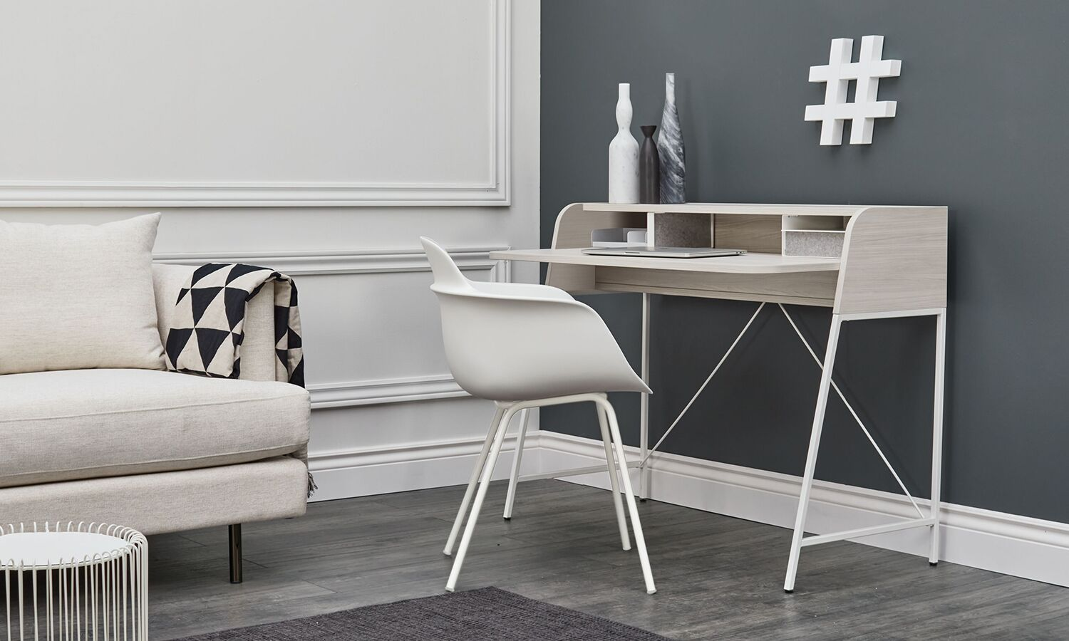Teknion Carrier Desk for home offices