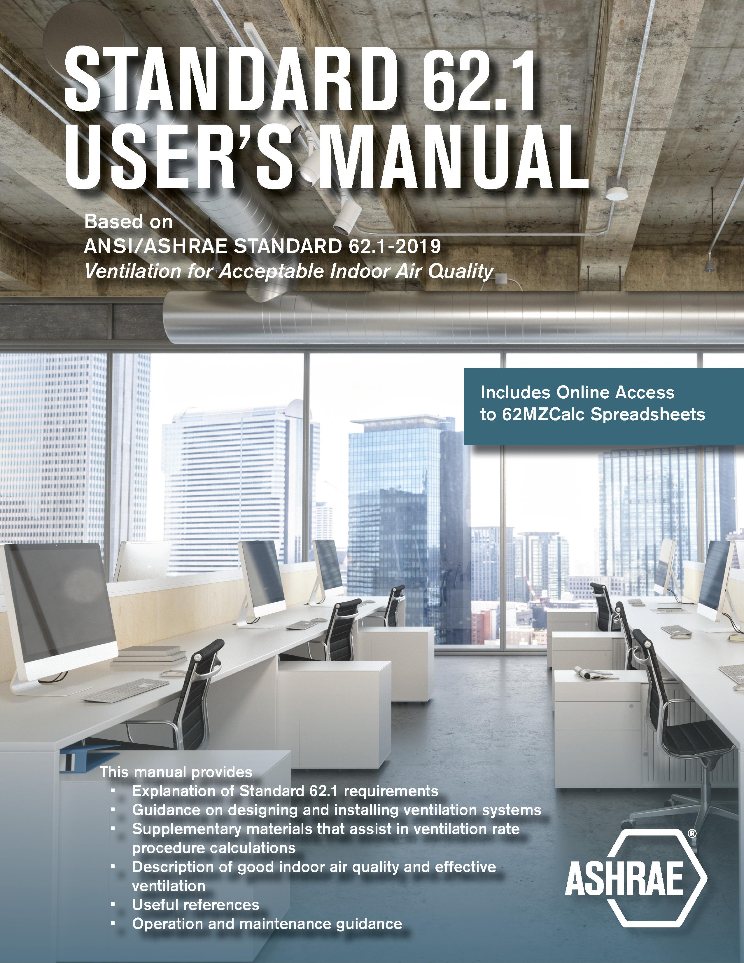 ASHRAE Standard 62.1 User's Manual