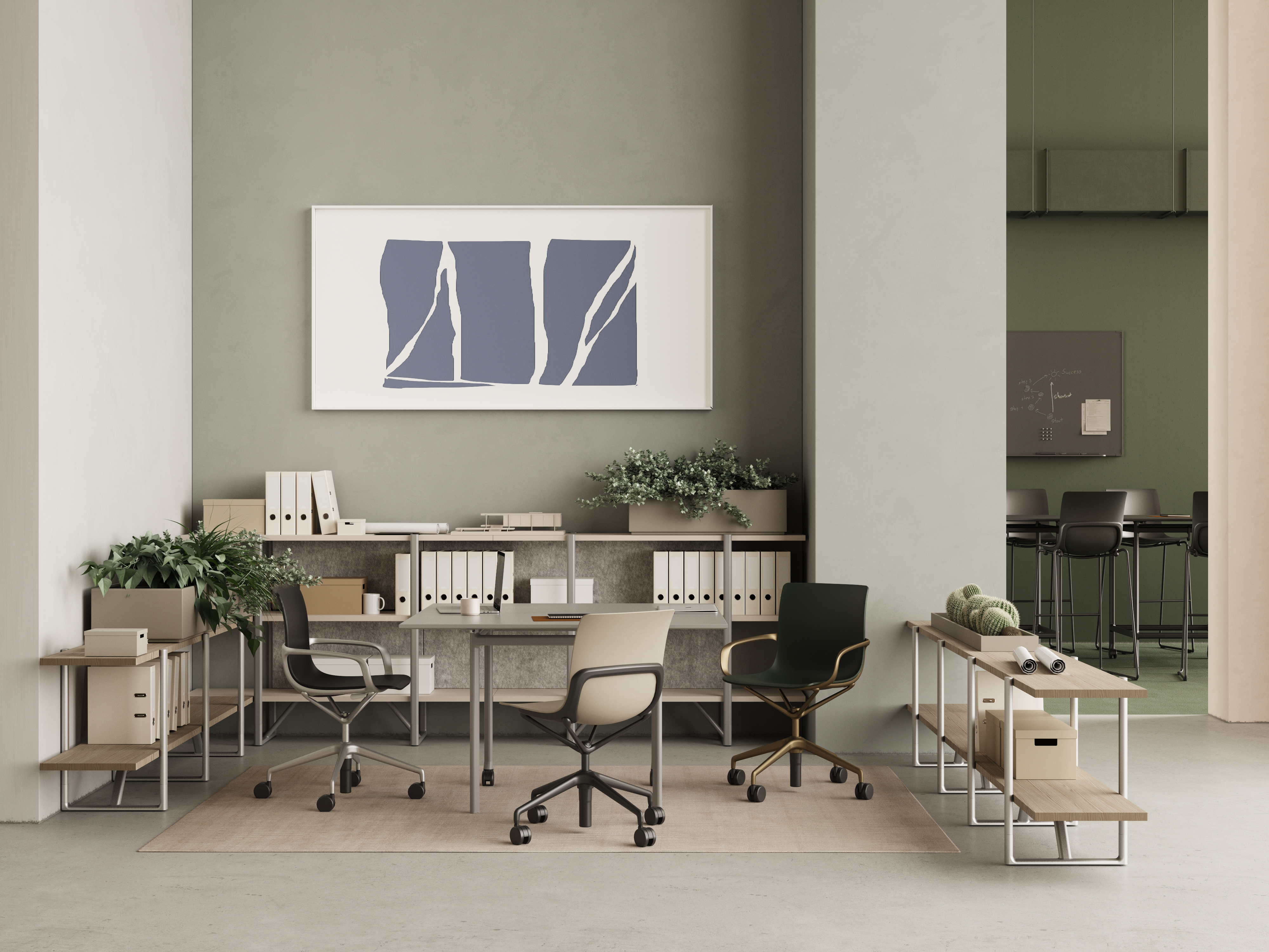 Keilhauer's Epix office furniture collection