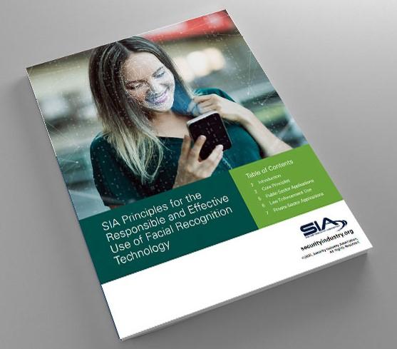 SIA facial recognition tech use principles