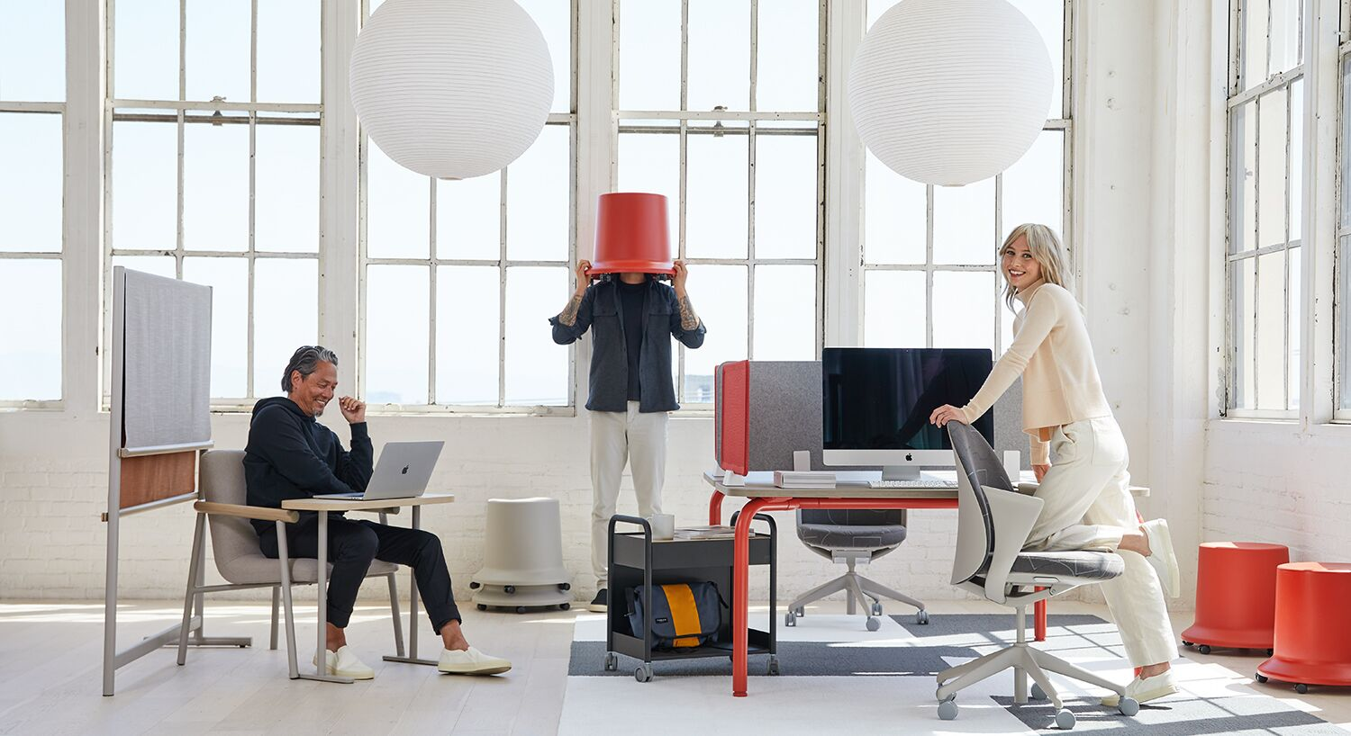 Teknion Routes office furniture collection