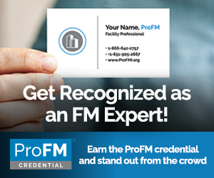 ProFM credential ad
