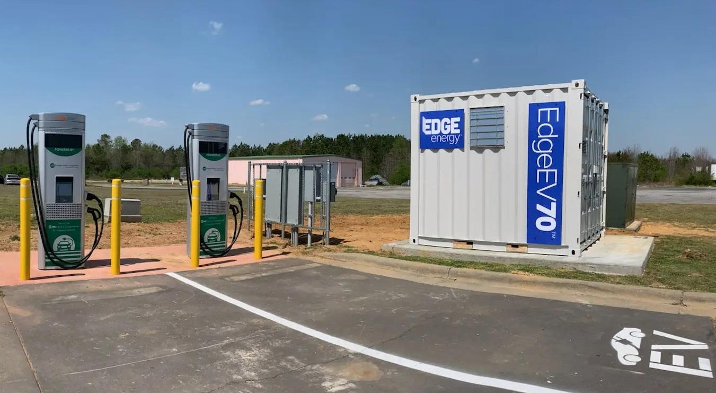 EdgeEnergy EdgeEV70 technology for EV charging stations