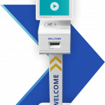 GHX Vendormate Kiosk with Visitor Management