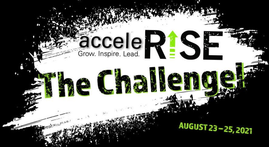 AcceleRISE event logo