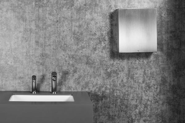 Bobrick Fino Collection of restroom accessories