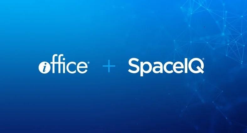 iOFFICE + SpaceIQ logo