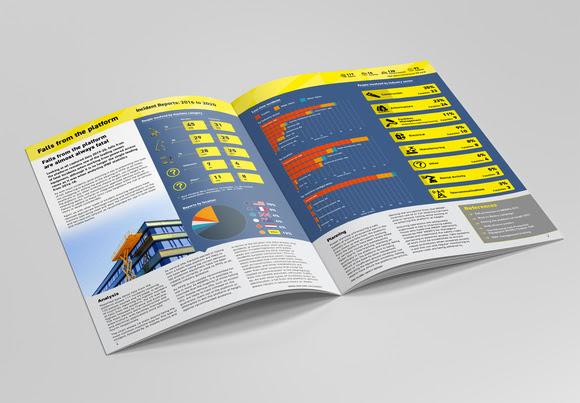 2021 IPAF Global Safety Report covering mobile elevating work platforms