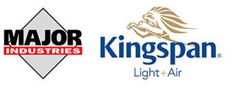 Major Industries and Kingspan Light + Air logo